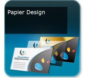 Cartes de correspondance Papier Design
