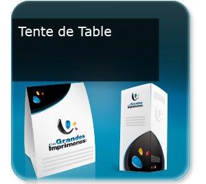 Dépliants / Plaquettes Tente de table