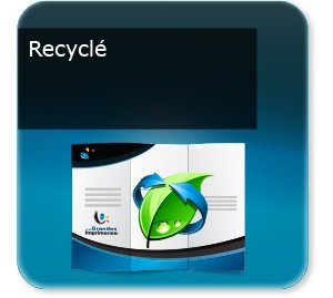 Dépliants / Plaquettes Recyclé écologique