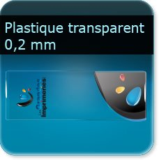 marque page plastique transparent PVC 0.2 MM souple transparent