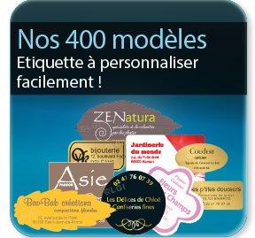 Autocollant & Étiquette Modèle Etiquette adhésive & autocollant