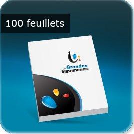 Blocs notes 100 feuillets