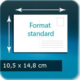 Cartes postales 148x105mm