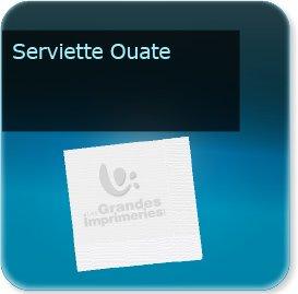 Pochette couvert addition serviette serviette papier OUATE tissue