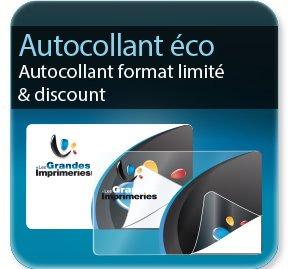 étiquette autocollante Autocollant discount