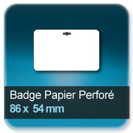 Badge 86x54 mm