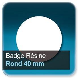 Badge Rond diamètre 4 cm