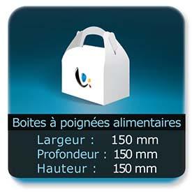 Emballage (Coffret, Boîte, carton, colis et etuis) Largeur de 150 mm - Profondeur 150 mm - Hauteur de 150 mm