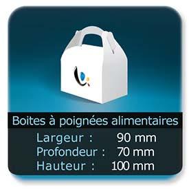 Emballage (Coffret, Boîte, carton, colis et etuis) Largeur de 90 mm - Profondeur 70 mm - Hauteur de 100 mm