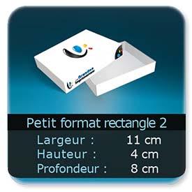 Emballage (Coffret, Boîte, carton, colis et etuis) 11 x 8 x 4 cm (Largeur x profondeur x hauteur)