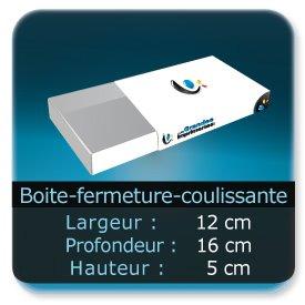 Emballage (Coffret, Boîte, carton, colis et etuis) 12 x 16 x 5 cm - Largeur de 12 cm - Profondeur 16 cm - Hauteur de 5 cm