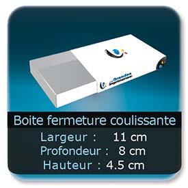 Emballage (Coffret, Boîte, carton, colis et etuis) 11 x 8 x 4,5 cm (Largeur x profondeur x hauteur)
