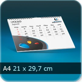 Calendriers A4 297x210mm