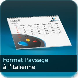 Calendriers A l'italienne