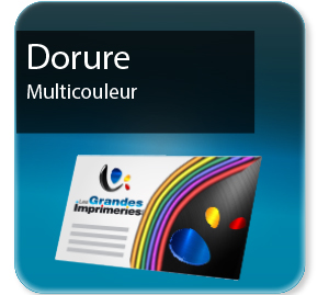 carte pizza Dorure multicouleur