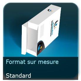 Emballage (Coffret, Boîte, carton, colis et etuis) Format personnalisé + Languette d'insertion - ECMA A2420