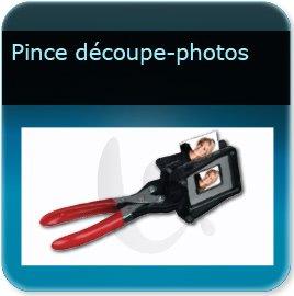 Badge plastique personnalisé Découpeur de photo pour badget