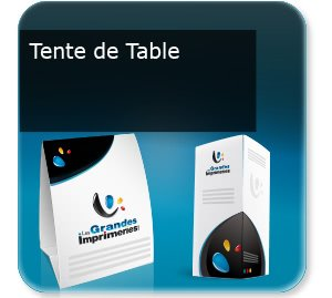 Flyer 4 volets Tente de table