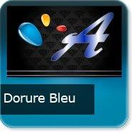 Cartes de visite Dorure bleu