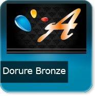 Cartes de visite Dorure bronze