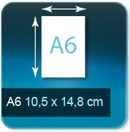 Flyers A6 10,5x14,8 cm
