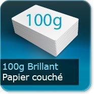 Affiches 100g couché brillant
