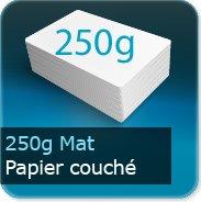 Affiches 250g couché mat