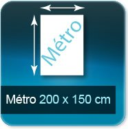 Affiches Metro 2000x1500mm