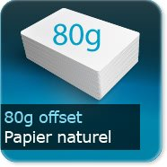 Affiches 80g Offset