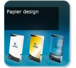 Document 3 volets Papier design