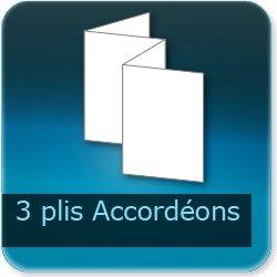 Dépliants / Plaquettes 3 plis accordéon