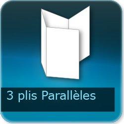 Dépliants / Plaquettes 3 plis parralèles