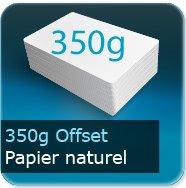 Cartes de correspondance 350g offset