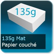Flyers 135g couché mat