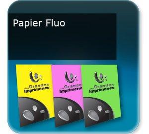 impression prospectus flyers et bandeaux papier fluo
