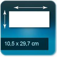 Flyers 10,5x29,7 cm