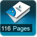 Tarif impression livre 116 Pages