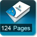 Tarif impression livre 124 Pages