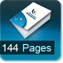Tarif impression livre 144 Pages