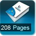 Livre dos cousu 208 Pages