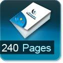 Livre dos cousu 240 Pages