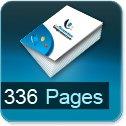 Livre dos cousu 336 Pages