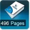 Livre dos cousu 496 Pages