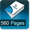 Livre dos cousu 560 Pages