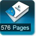 Livre dos cousu 576 Pages