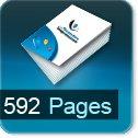 Livre dos cousu 592 Pages
