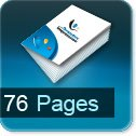 Tarif impression livre 76 Pages