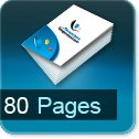 Tarif impression livre 80 Pages