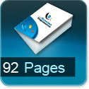 Tarif impression livre 92 Pages