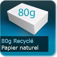 Sets de table Papier offset recyclé 80g